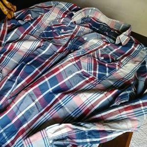 Mens Button Front Shirt